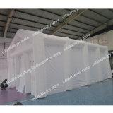 tenda gonfiabile di 10*6*4m per la tenda gonfiabile di grande illuminazione bianca gonfiabile della tenda della festa nuziale