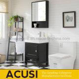 Gabinete de banheiro feito sob encomenda Closed macio da madeira compensada do estilo moderno (ACS1-W72)