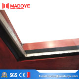 Porte en verre personnalisée d'art de prix usine de la Chine