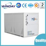 Refrigerador refrigerar de ar do sistema refrigerando da água na pressão do compressor do diagrama