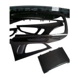 ajustes decorativos internos de los interiores de los ajustes del tablero de instrumentos del coche de la fibra del carbón que moldean 3K