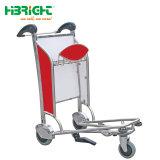 Passagier-Gepäck-Laufkatze mit Handbremse für internationalen Flughafen