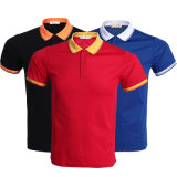 Fait en usine de la publicité personnalisée plaine de haute qualité pour hommes chemises polo avec logo