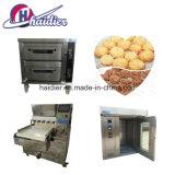 De Lopende band van de Koekjes van de Machines van het Voedsel van snacks Met de Oven en de Mixers van het Baksel