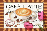カスタム装飾的なコーヒー型のブリキ板の印