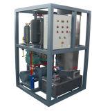 10 Tonnen-tägliche industrielle Gefäß-Speiseeiszubereitung-Maschine für Nahrungsmittelaufbereitengefäß-Eis-Maschine