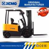 XCMG Counterbalance van 3 Ton de Elektrische Vorkheftruck Gebruikte Prijs van de Vorkheftruck van de Batterij