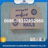 Una buena calidad Q195 de alambre redondo común la construcción de las uñas