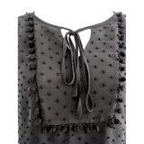 OEM all'ingrosso breve Sleevess personalizzato stile con la fasciatura