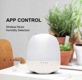 La música comercial de altavoces Bluetooth Aroma Humidificador lámparas coloridas Aceite esencial de la aromaterapia Difusor Eléctrico