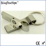 Bastone istantaneo del USB del mini metallo con l'anello chiave (XH-USB-152)