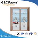 Алюминиевых строительных материалов из дерева цвета сдвижной двери
