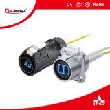 Conector de fibra óptica de la señal Lp24 para el monitor y el sensor termal