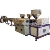 Hochgeschwindigkeitsfarben-Rattan-maschinelle Herstellung-Zeile des plastikdrei