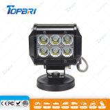 barre d'éclairage LED de CREE de construction d'entraîneur de camion du galipot 18W