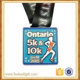 Médaille faite sur commande 160 en métal de lanière de qualité pour le sport