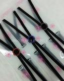 Cinghia di spalla elastica del Rhinestone di cristallo multicolore del reggiseno di modo per le donne