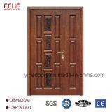 Modèle de découpage en bois extérieur de porte principale à vendre