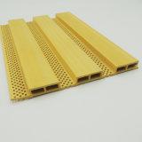 La Gran Muralla grande fonoabsorbente 20416 artesona el perfil compuesto plástico de madera
