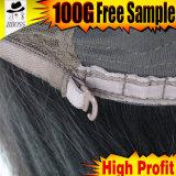 Perucas naturais de Cosplay do cabelo humano de Yaki da venda quente