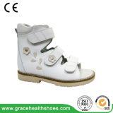 Сандалия кожаный сандалии стабилности детей сандалии здоровья протезная