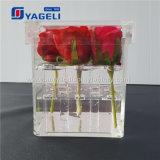 Rectángulo claro al por mayor de las rosas del acrílico 9 de la fábrica