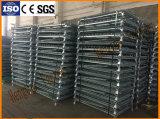 Entrepôt de stockage de palettes de treillis métallique en acier Bin avec des roues