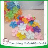 La decoración de la seda de simulación de pétalos de flores de pétalos de tela fábrica Fabricación