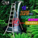 Soldadura de trípode de la Escalera de aluminio de 6 pasos de 1,98 m