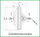 Motor do cubo da E-Bicicleta de Czjb-205/35 48V 1000W