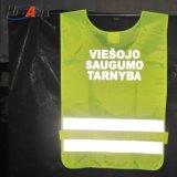 Veste reflexiva do corredor das camisas do trabalho
