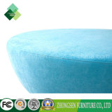 Wohnzimmer-Möbel-ovale Osmane-blaue Osmane-Puffe für Verkauf
