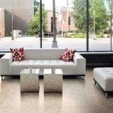 Пол выложен плитками тераццо кафельный пол и стены оформление Внутренних Дел (тер602-коричневого цвета)