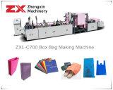 Der nicht gesponnene Beutel, der Maschine für Griff herstellt, bauscht sich (ZXL-C700)