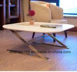 현대 둥근 대리석 커피용 탁자