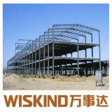 Edificio de acero para el taller y almacén