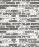 Carta da parati moderna di disegno 3D della pietra del mattone