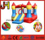 子供のための普及した屋内膨脹可能な跳躍の警備員の城は使用した