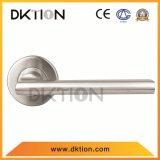 AL048ステンレス鋼の管のドアのレバーの固体ハンドル