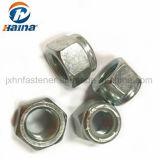Acier inoxydable DIN autobloquant985/DIN982 A2-70/A4-80 prévalant Type de couple de l'écrou en nylon à tête hexagonale