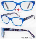 Горячая продажа чтения очки с горячей штамповки храм (WRP704988)