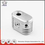 Peças de alumínio do CNC do metal cheio da inspeção para a máquina de estaca