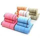 100%Cotton de duidelijke Geverfte Dobby Reeks van de Badhanddoek van de Streep (02Y0007)