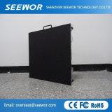 Armario de fácil instalación P3mm LED de alquiler en el interior de la pared de vídeo para el módulo de 192*192 mm