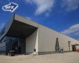 Lang-Überspannung Fertigchina-Lieferanten-Stahlkonstruktion-Lager-Halle-Werkstatt