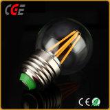 寝室で使用されるLEDの球根のエジソン4W G45 E27 LEDのフィラメントの球根ライト