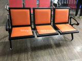 空港3つのシートの椅子Dl6011cを待っている待っている金属の椅子の病院の控室のパブリック