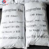 vezel Microfibre van de Techniek van het Polypropyleen pp van 12mm de Concrete