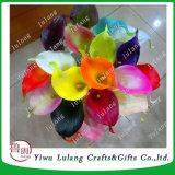 人工花の卸売の安い人工花のオランダカイウユリの花