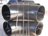 Gomito lungo del raggio del acciaio al carbonio da 90 gradi